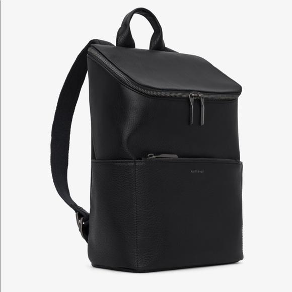 9b9dd822f2 Matt   Nat Brave Backpack in Black. M 5c0fcd76c9bf50c0023e4012